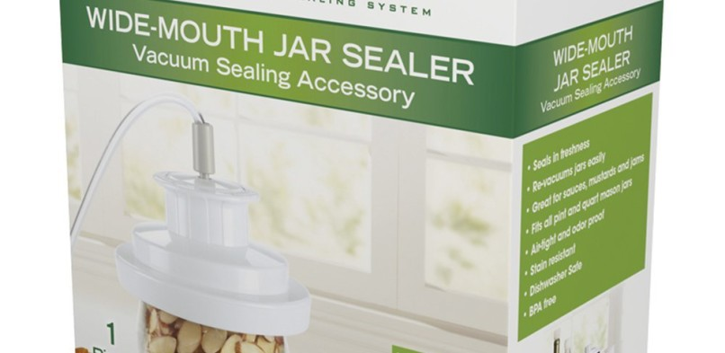 Foodsaver Vacuum Sealer for Mason Jars