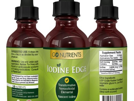 Nascent Iodine Supplement