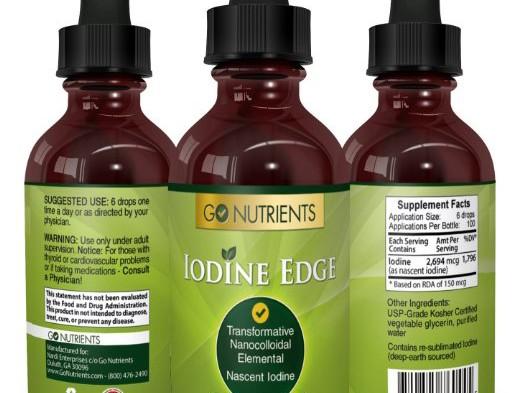 Nascent Iodine Supplement